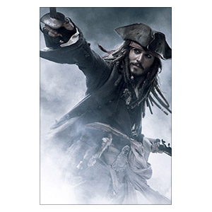 Pirates of the Caribbean. Размер: 40 х 60 см